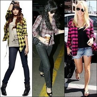 camisa xadrez Moda do Estilo Rock nRoll: Roupas, Sapatos e Acessórios Incríveis