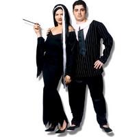casal familia adams Fantasias de Halloween Improvisadas: Passo a passo e Dicas Incríveis
