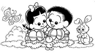 chico10 Desenhos para Colorir do Chico Bento: Imprima e Pinte. Confira Aqui!