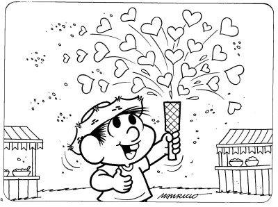 chico11 Desenhos para Colorir do Chico Bento: Imprima e Pinte. Confira Aqui!