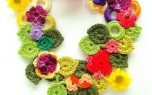 Lindos Colares e Acessórios Feitos em Crochê – Faça Terapia e Lucre