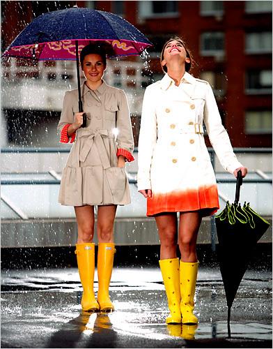 dia chuvoso 1 Moda Chuva e Tendências   Como se Vestir em Dia de Chuva