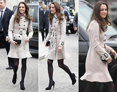 kate middleton casaco bege Moda Kate Middleton Casacos: Lindos Modelos da Duqueza de Cambridge