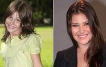 Antes e Depois de Atrizes Mirins: Marina, Debby, Bruna, Isabelle, Foto