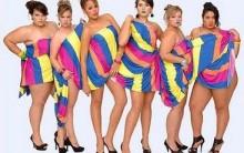 Moda para Gordinhas Verão 2012: Cores, Blusas, Vestidos e muito mais