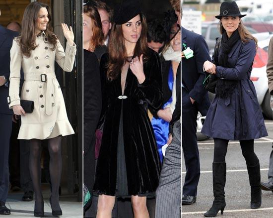 moda kate middleton casaco preto Moda Kate Middleton Casacos: Lindos Modelos da Duqueza de Cambridge