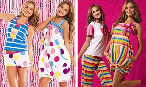 modelos de pijamas femininos fotos Modelos Modernos de Pijamas Femininos Lindos e Elegantes   Confira
