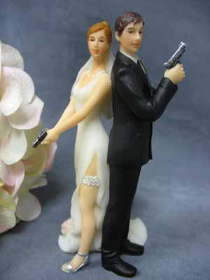 noininhos bolo de casamento Noivos de Biscuit, Bolo de Casamento: Fotos de Noivinhos Engraçados