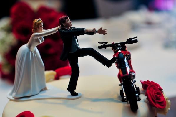 noiva de casamento bolo Noivos de Biscuit, Bolo de Casamento: Fotos de Noivinhos Engraçados