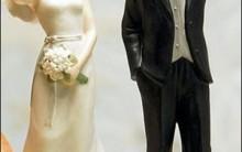 Noivos de Biscuit, Bolo de Casamento: Fotos de Noivinhos Engraçados