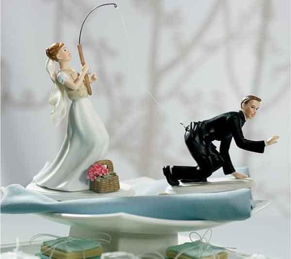 noivos de bolo Noivos de Biscuit, Bolo de Casamento: Fotos de Noivinhos Engraçados