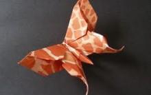 Origami de Borboletas – Veja Passo a Passo e em Video – Arte em Papel