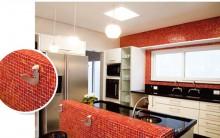 Pastilhas de Vidro na Decoração: Cozinha e Banheiro, Cores, Modelos