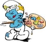 pintor Tudo sobre Os Smurfs: Nomes dos Personagens, Imagens, Trailer do Filme
