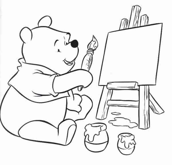 desenhos para colorir do urso pooh imprima e pinte confira