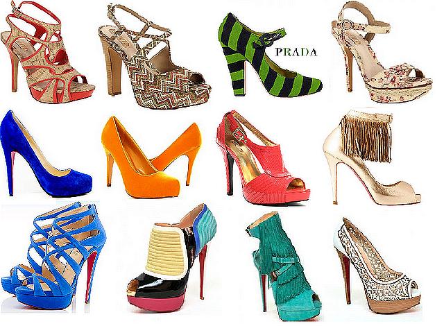 verao 2012 sandalias Sandálias Moda Verão 2012: Cores, Lindos Modelos, Dicas e Tendências