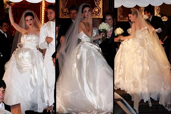 vestidos famosas:
