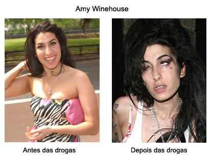 winehouse ates depois Amy Winehouse está Morta: Fotos da Carreira, Antes e Depois da Cantora