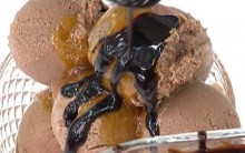Receita de Gelado com Calda de Laranja e Chocolate da Ana Maria Braga