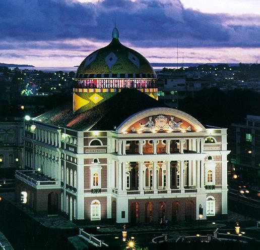 amazonas Teatro Amazonas em Manaus   AM: História, Inauguração, Fotos
