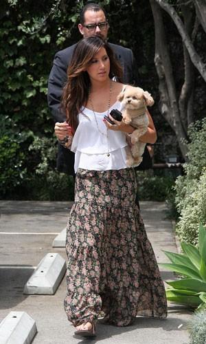 ashley tisdale Moda das Saias Longas Verão 2012: Modelos das Famosas, Cores e Dicas