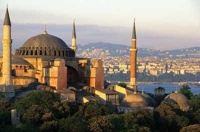 basilica santa sofia Tudo sobre Arte Bizantina: Mosaicos, Pinturas, Cultura e Arquitetura