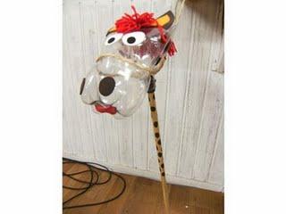 cavalo pet 1 Lembrancinhas para o Dia das Crianças    Moldes, Modelos e Reciclagem