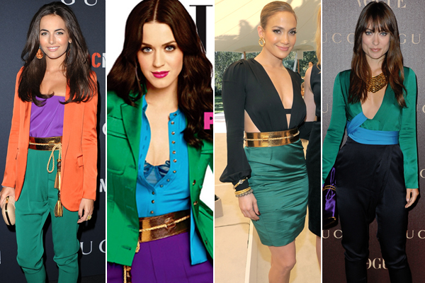 color block 2 Moda Color Block 2012: Como se Vestir num Estilo Blocking, Modelos