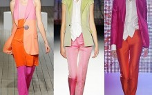 Moda Color Block 2012: Como se Vestir num Estilo Blocking, Modelos