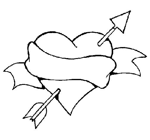 coracao Desenhos de Coração para Colorir: Lindos Corações, Imprimir e Pintar