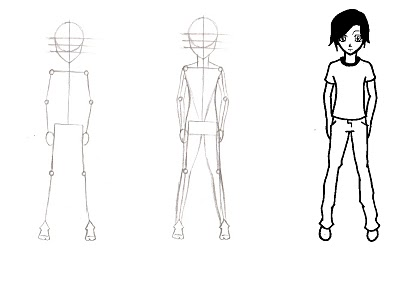 corpo manga Como Desenhar Corpo de Mangá: Passo a passo, Dicas, Video e Modelos