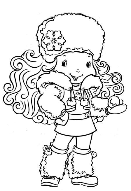 desenho da floquinho de neve para colorir Desenhos para Colorir de Meninas: Melhores Imagens, Imprimir e Pintar