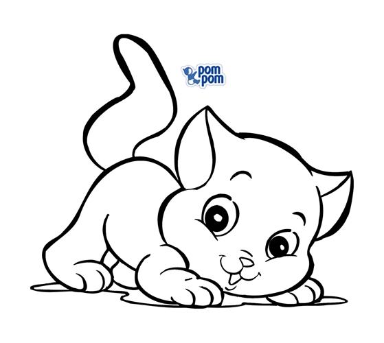 Desenhos Para Colorir De Gatos  Gatinhas E Felinos Imagens Para Pintar