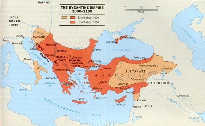 imperio bizantino 2  Império Bizantino: Resumo da Economia, Política, Religião, Tudo Sobre