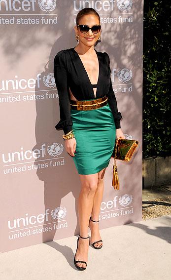 jeniffer lopez Moda Color Block 2012: Como se Vestir num Estilo Blocking, Modelos