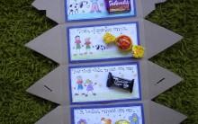 Lembrancinha para Dia dos Pais Passo a Passo – Caixa de Bombons