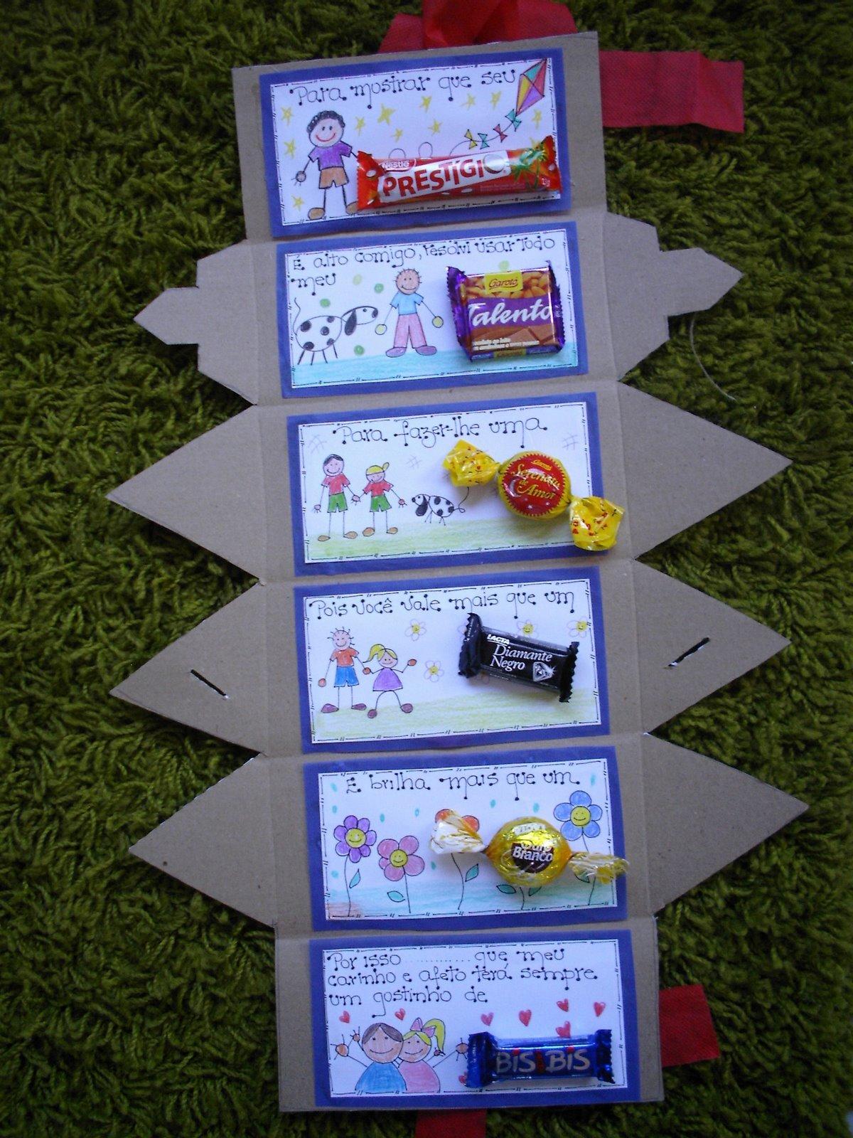 lembrancinhas pais Lembrancinha para Dia dos Pais Passo a Passo   Caixa de Bombons