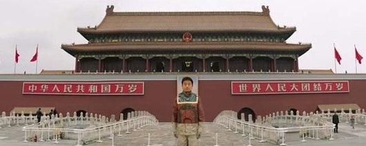 liu bolin invisivel 2 Liu Bolin, O Homem Invisível: Fotos, Artista que se Camufla no Cenário