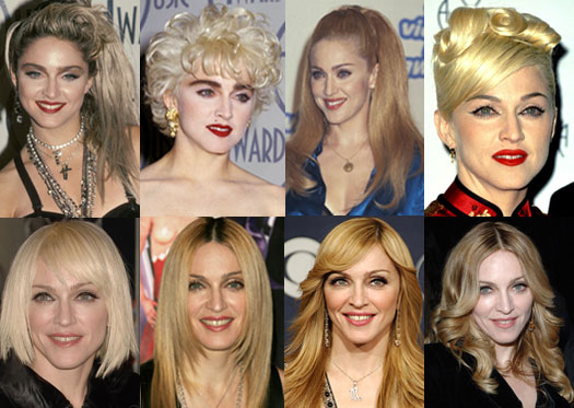 madonna fases Aniversário de Madonna, 16 de Agosto: Biografia e Fotos da Carreira