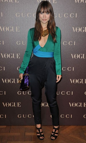 olivia wilde Moda Color Block 2012: Como se Vestir num Estilo Blocking, Modelos