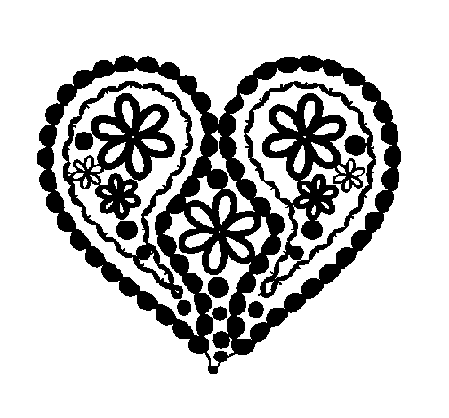 pintar coracao Desenhos de Coração para Colorir: Lindos Corações, Imprimir e Pintar