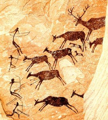 pintura rupestre Tudo sobre Pinturas Rupestres: O que São, Principais Cavernas e Fotos