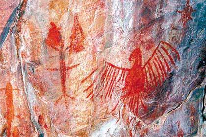 pintura rupestres Tudo sobre Pinturas Rupestres: O que São, Principais Cavernas e Fotos