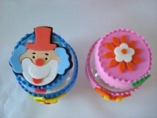 potinhos decorados Lembrancinhas para o Dia das Crianças    Moldes, Modelos e Reciclagem