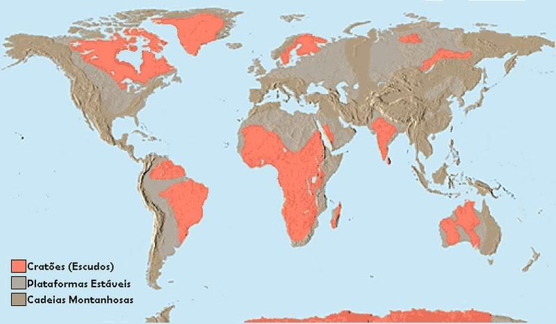 Tudo Sobre As Províncias Geológicas Escudos Dobramentos E
