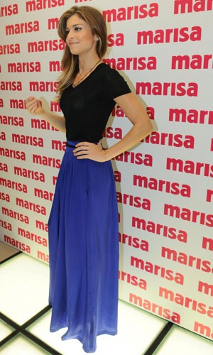 saia longa grazi Moda das Saias Longas Verão 2012: Modelos das Famosas, Cores e Dicas