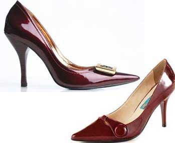 scarpin modelos Moda dos Sapatos de Bico Fino 2012: Lindos Modelos de Scarpins, Cores