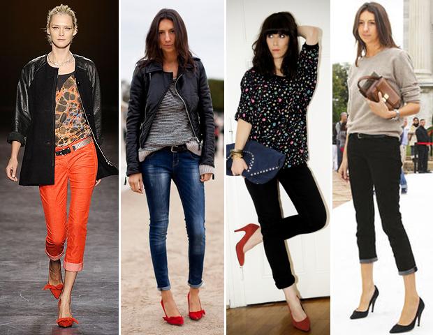 scarpin Moda dos Sapatos de Bico Fino 2012: Lindos Modelos de Scarpins, Cores