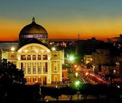 teatro amazonas fachada Teatro Amazonas em Manaus   AM: História, Inauguração, Fotos