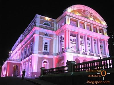 teatro amazonas noite Teatro Amazonas em Manaus   AM: História, Inauguração, Fotos
